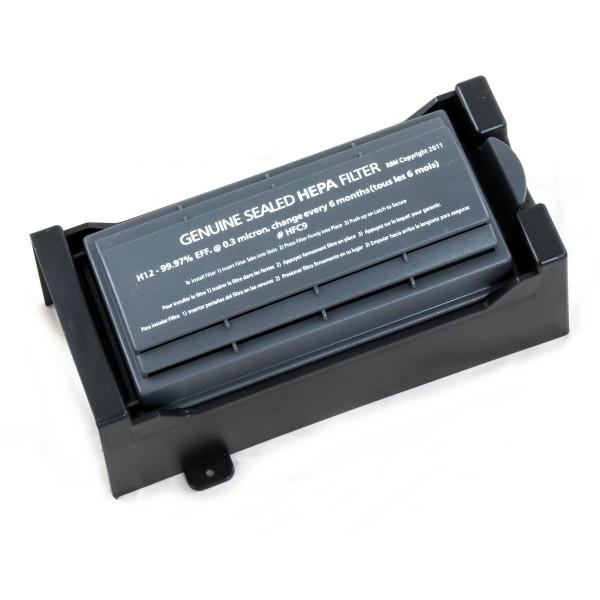 HEPA-Abluftfilter aus Kunststoff mit Austauscheinsatz